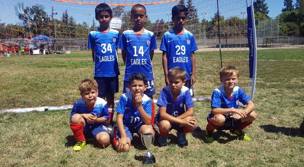 Eagles Boys 5v5 Winners
