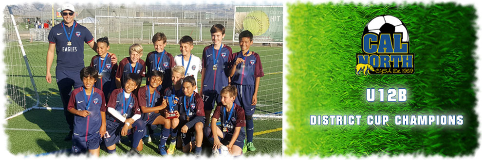 eagles banner cupU12 Final 2