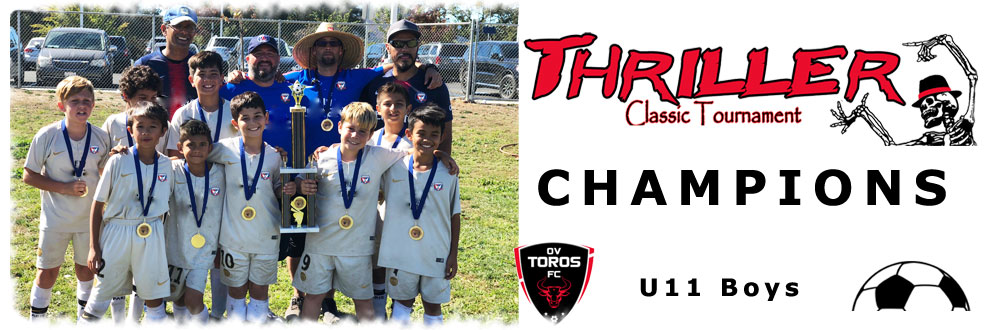 u11 boys thriller classic tournament 2